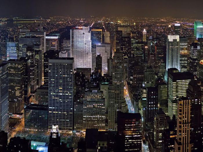 Skyline-City-Commercial-Center-New-York-United-States