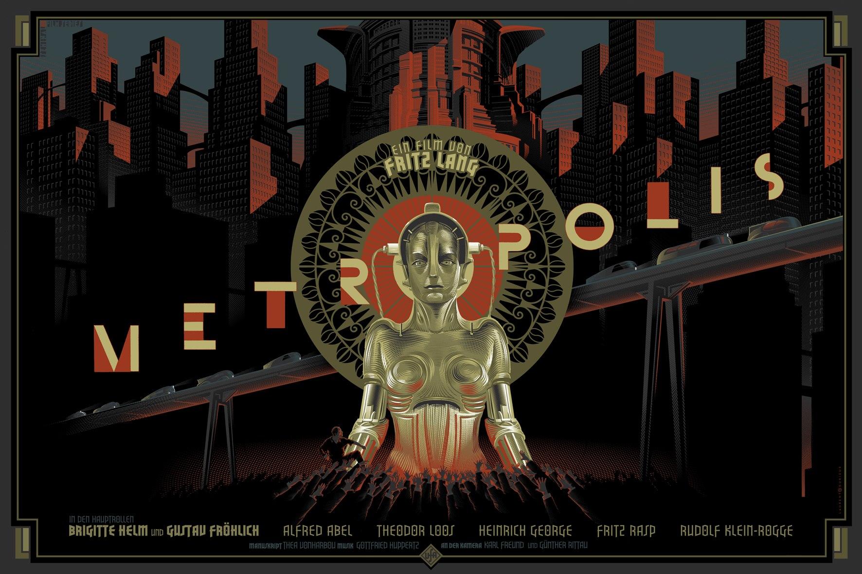 wallpaper cyberpunk metropolis robots - photo #13